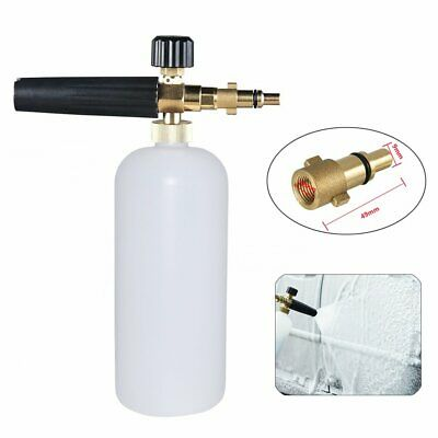 Nilfisk Old Type Snow Foam Lance Pressure Washer Car Wash Cannon Gun Soap Bottle
