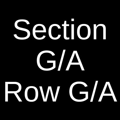 4 Tickets The Band Camino 9/20/19 Newport Music Hall Columbus, OH