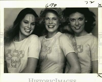 1979 Press Photo Love Cosmetics - Finalists in Teen Magazine Beauty Contest