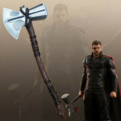 Avengers Infinity War Marvel Thor Stormbreaker Axe 1:1 Scale Weapon Cosplay Prop
