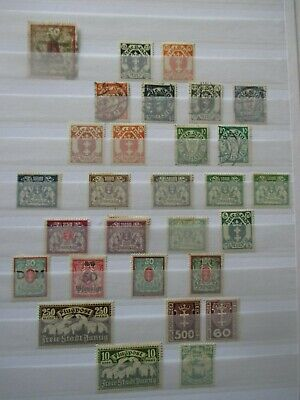 Germany Stamps - Danzig - Small Collection - E3