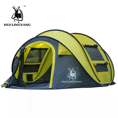 Camping Tent Waterproof Outdoor Hiking Large Pop Up Automatic Tent Folding Tent