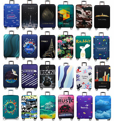 """Luggage Case Cover Bag Dustproof 18""""-32"""" Trolley Suitcase Travel Dust Protector"""