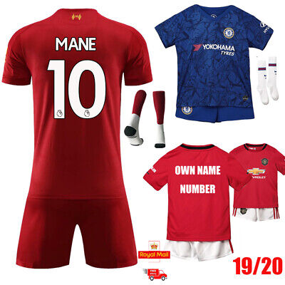 New Youth Football Training Kit Kid Boys Soccer Jersey Strips Sportswears Outfit Kids' Clothes, Shoes & Accs.