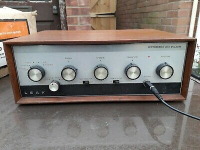 Leak Stereo 30 Plus Vintage HiFi Integrated Amplifier Amp boxed