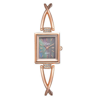 Ms. bracelet watch hot personality square dial Epoxy alloy fine quartz watches