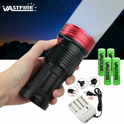 Super Bright 50000LM 12x XML T6 LED Flashlight Torch Work Lamp Outdoor Lighting
