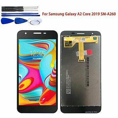 Black Touch Screen Digitizer LCD Display for Samsung Galaxy A2 Core 2019 SM-A260