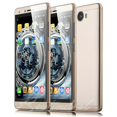 """LUXURY 5.0"""" Touch Android Mobile Smart phone 2Sim Quad Core WiFi 3G GPS Unlocked"""