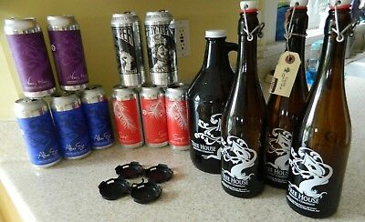 Tree House (8 Empty cans &  4 Empty bottles) + Heady topper (2 Empty cans)