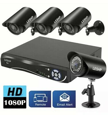 LESHP Wireless Security Camera System