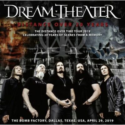 NEW DREAM THEATER - DISTANCE OVER 20 YEARS  2CDR #Dr