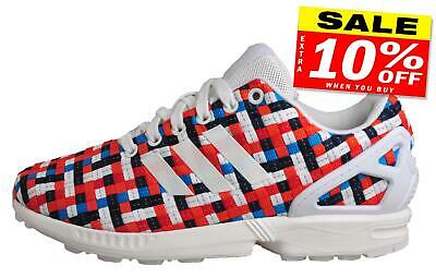 Adidas Originals ZX Flux Mens Classic Casual Retro Fashion Trainers Multi