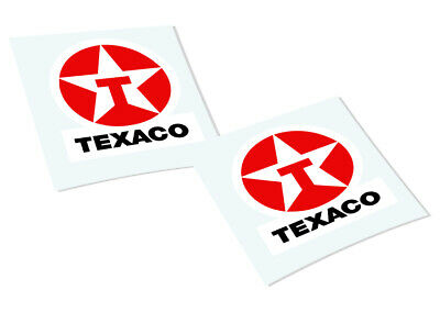 TEXACO Classic Retro Car Motorcycle Decals Stickers