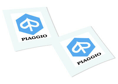 PIAGGIO Classic Retro Car Motorcycle Decals Stickers