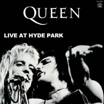 NEW QUEEN LIVE AT HYDE PARK 1CDR #St