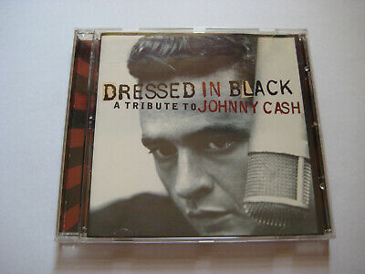 CD - VA - Dressed In Black - A Tribute To Johnny Cash - Rockabilly - Country