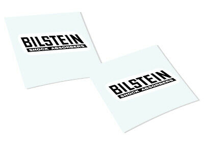 BILSTEIN Classic Retro Car Motorcycle Decals Stickers