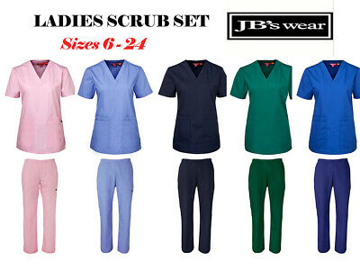 Ladies Scrub Pant Top Hospital Grade Nursing scrubs Jbs medical scrubs