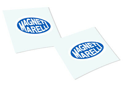 MAGNET MARELLI Classic Retro Car Motorcycle Decals Stickers