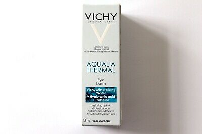Vichy Aqualia Thermal Eye Balm - Long-Lasting Hydration - Fragrance-Free - 15ml