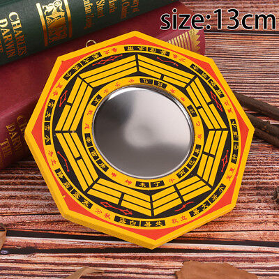 """5"""" Inch Chinese Dent Convex Bagua Mirror Blessing House Protection Feng Shui  gi"""