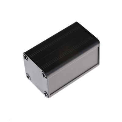 40*25*25mm Extruded PCB Aluminum Box Black Enclosure Electronic Project Case gi