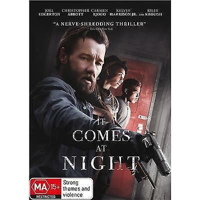 It Comes at Night DVD 2017 MA 15 + / Buy 1 DVD get 2nd DVD at half price!