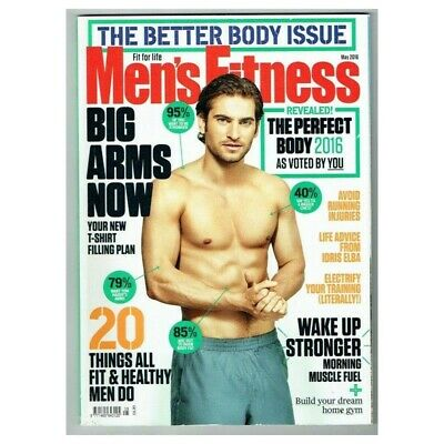 Men's Fitness Magazine May 2016 MBox3608/I The perfect Body 2016
