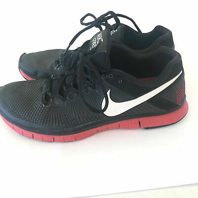 f245200da6341 NIKE FREE Mens Trainer 3.0 Black Red sz 12 M Running Shoes 553684–016  Sneakers