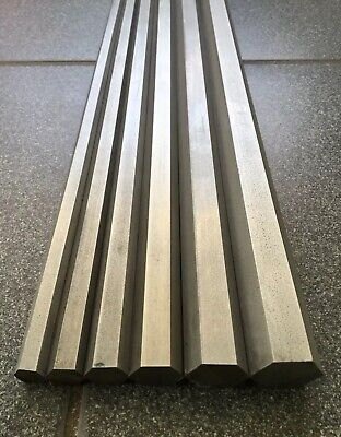 Stainless steel , 303 ,hexagonal bar , whitworth sizes ,imperial , 300mm , 600mm