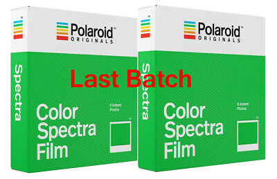 TWO Polaroid Originals IMAGE SPECTRA Colour Instant Films **IN STOCK **