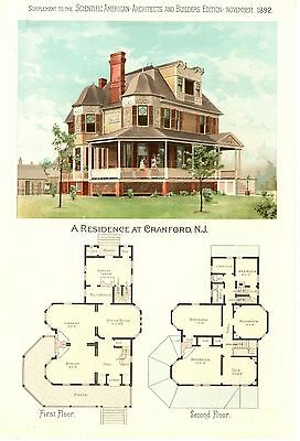 Cranford, N. J. -  Scientific American Architects and Builders Edition  -  1891