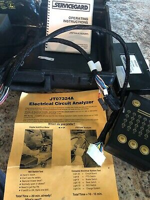 John Deere Lx,GT,300,400 Electrical System Analyzer JT07324A With Case