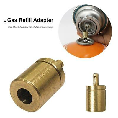 Gas Refill Adapter for Outdoor Camping Hiking Stove Inflate Butane Canister #N1
