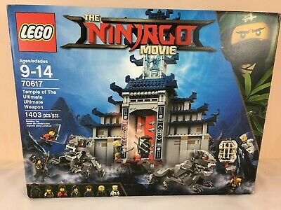 LEGO Ninjago Movie Temple of the Ultimate Ultimate Weapon 70617 LaLloyd NEW 100%