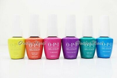 OPI Soak-Off GelColor NEON Collection Spring / Summer 2019 @PICK Any Gel