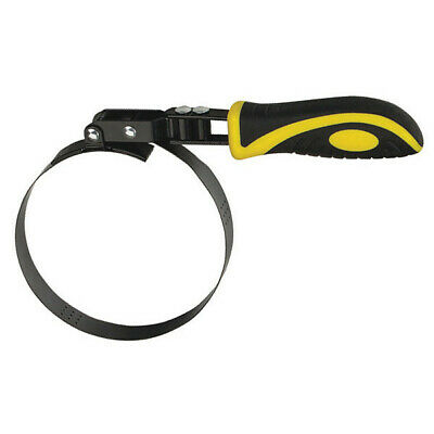 "LUMAX LX-1828 Heavy-Duty, Swivel Handle Oil Filter Wrench, 5-1/4"" to 5-3/4"""