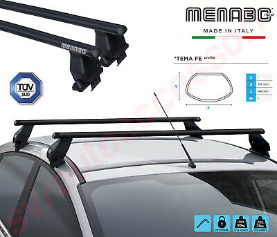 Barre Portatutto Menabo/' Tema per FIAT PANDA III con fixed point 5p dal 2015