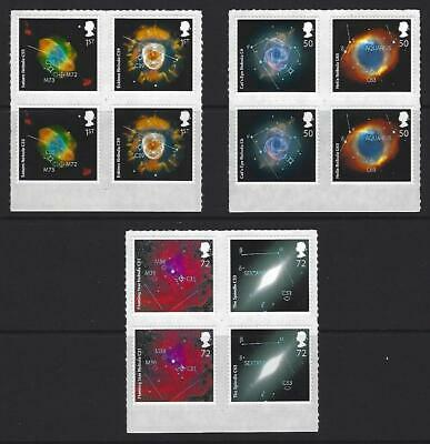 2007 Sky at Night, 2 Complete sets of 6 values in se-tenant Blocks of 4 - MNH