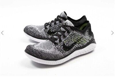 buy online f4ef0 4a571 NIKE POUR FEMMES Gratuit Rn Flyknit 2018 Chaussures Blanches 942839 ...