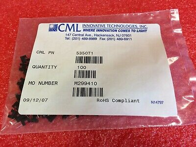 100pcs 5350T1  - CML Low Power LED (below 100mA) *JI 3b