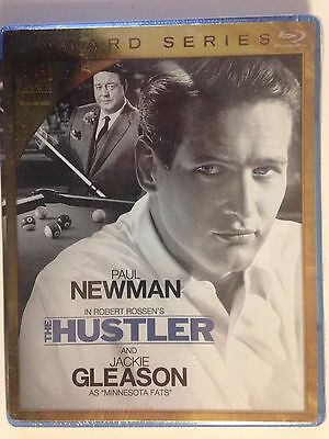 The Hustler (Blu-ray Disc, 2011) Paul Newman, Jackie Gleason (NEW)