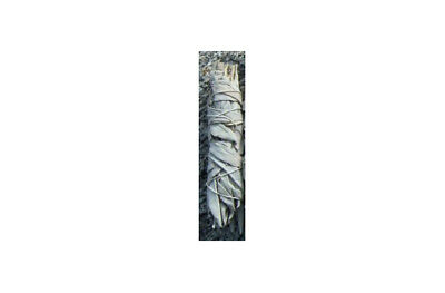 """1 White Sage Smudge Stick Wand House Cleansing Remove Negativity Ceremonial 3-4"""""""
