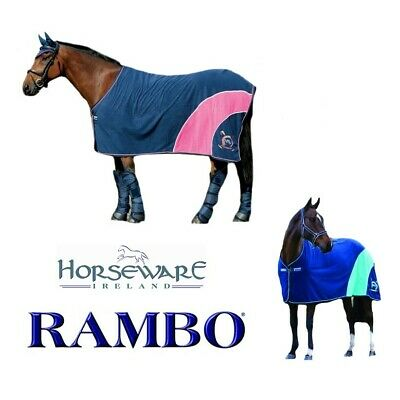 Paardaccessoires Horseware FLEECE THROW 3 PK Ideal For Shows/Travel/Overnight Stays/Spectators
