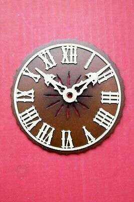 Cuckoo clock dials,  new ornate all wood Black Forest made,  variations.