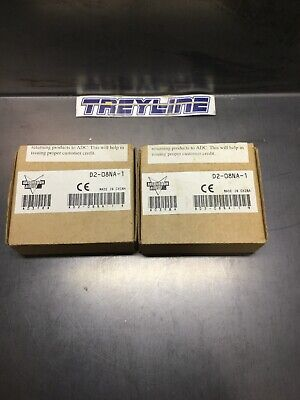 Lot Of 2, New, Automation Direct, D2-08Na-1, Output Module. (15K-3)