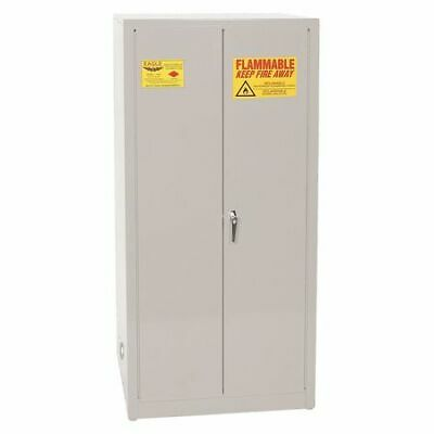 EAGLE 1962GRAY Flammable Safety Cabinet,60 gal.,Gray