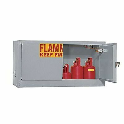 EAGLE ADD14GRAY Flammable Cabinet,15 gal.,Gray