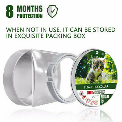 Removes Flea And Tick Collar Dogs Cats Up To 8 Month Flea Tick Collar Gift